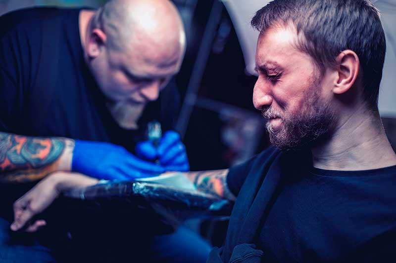 tattoo ink allergy