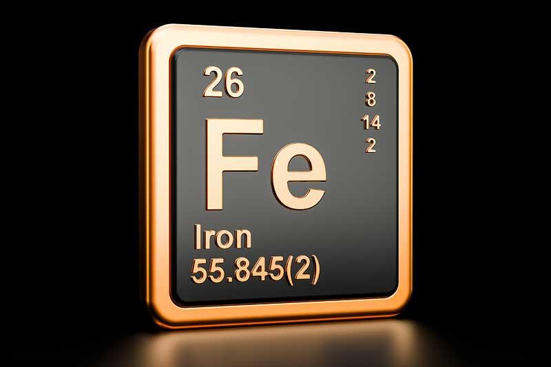 iron allergy symptoms