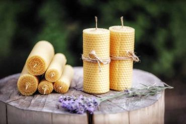 Hypoallergenic Beeswax Candles