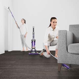 Vacuuming with Dyson Ball Animal 2